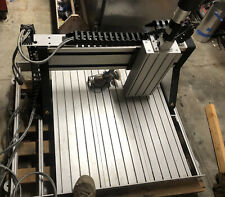 Techno Isel Cnc Router Flat Bed Travel Limits X21xy22xz85