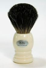 HANS BAIER Rasierpinsel Dachshaar shaving brush badger 20 mm Germany