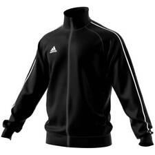 adidas Core 18 Polyesterjacke schwarz WEISS XS