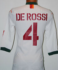MAGLIA ROMA DE ROSSI CHAMPIONS 2004 2005 DIADORA XXL PLAYER ISSUED no match WORN