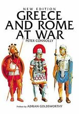 Greece and Rome at War by Peter Connolly.. NEW Hardcover...60% disc shelfwear