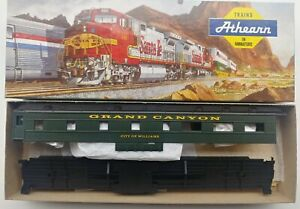 Athearn GRAND CANYON RAILWAY OBSERVATION CAR CUSTOM DECORATED BY CON - COR