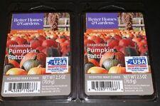 Better Homes & Gardens Scented Wax Cubes FARMHOUSE PUMPKIN PATCH / 2 Packs