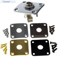 "GOTOH JCB-4 Square Curved Jack Plate for Gibson® & 1/4"" SWITCHCRAFT #11 Output"