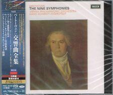 Beethoven The Nine Symphonies Hans Schmidt-Isserstedt Japan 5 SACD NEW/SEALED