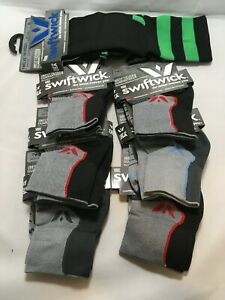NEW Unisex Swiftwick Compression Blister Free Antimicrobial Socks Moisture Wick