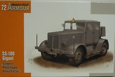 """SS-100 Géant """"Plus fort Tracteurs à roues"""", 1/72, Special Armour, Plastique"""