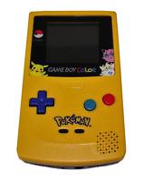 Genuine Nintendo Gameboy Color GBC Pokemon Yellow- ReShelled