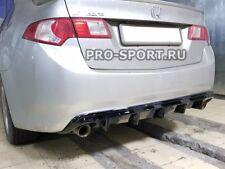 forHonda Acura TSX Accord 2009 2010 2011 2012-2014 rear bumper diffuser spoiler