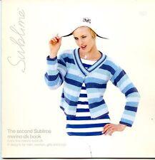 The Second Sublime Merino DK Book #621 Knitting Patterns for Men Women Children