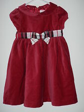 Gymboree Holiday Pictures Christmas Dress Plaid Bow santa photo outfit 18M 24M