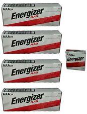 Energizer Max E92-VP AAA 1.5V Alkaline Batteries - 100 bulk pack Exp.12/2031