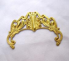 Brass Filigree Wholesale Findings Jewelry Findings DIY Crafts bf132(10pcs)