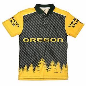 "KLEW NCAA Men's Oregon Ducks ""Thematic"" Polo Shirt"