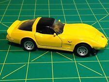 Maisto DIE CAST CAR Replica 1978 CHEVROLET CORVETTE 1:39 Scale Yellow Chevy