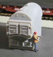 HO Scale Kewanee Type C Industrial Fire Tube Boiler Flatcar Load