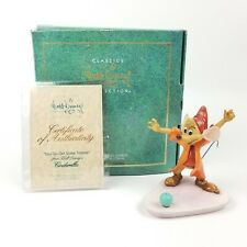 "WDCC Cinderella JAQ ""You Go Get Some Trimmin""  Box & COA"
