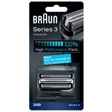 Braun Replacement Heads Series 3 32B Cassette