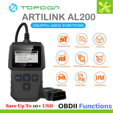 OBD2 Automotive Car Diagnostic Scanner Tool Fault Code Reader OBDII CAN I/M MIL