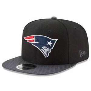 New England Patriots 2017 NFL Men's Black New Era 9FIFTY Snapback Adjustable Cap