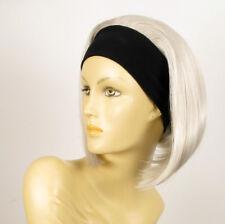 parrucca con bandana elastica corta bianco ref DOROTHEE 60 peruk