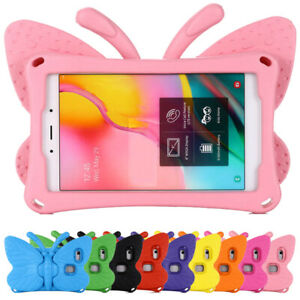 """Safe Kids Butterfly EVA Foam Stand Case Cover for Huawei MediaPad M3 M5 M6 8.4"""""""