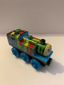 RARE Thomas & Friends- Thomas Paint Splattered - Learning Curve Brio ELC