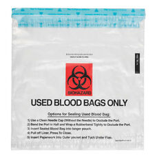"Blood Bag Return Bag  10""W x 10.5""H 100 pk"