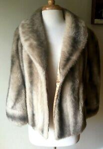 Vintage Sears Fashions Faux Fur Wrap Stole Capelet Sears Fashions Cos Play