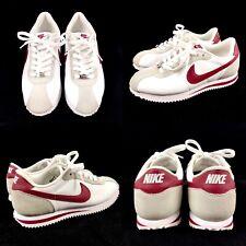 Nike Cortez Basic 06 Mens Leather Shoes Team Red White Size 7 Retro 316418-109