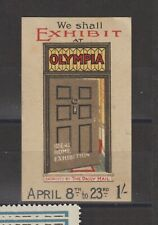 More details for uk poster stamp ideal home exhibition 1910 olympia