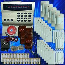 WIRELESS HOME SECURITY SYSTEM - LED BURGLAR FIRE ALARM HOUSE AUTO-DIALER NEW G05