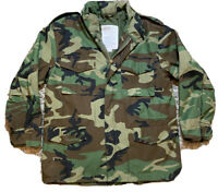 US Army Air Force Civil Patrol Rothco Ultra Force Camo Field Coat Jacket L Reg