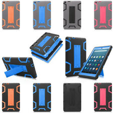 "Shockproof Hard Plastic Rubber Cover Case  for Amazon Fire HD 8"" 2016 6th Gen"