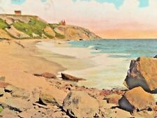 Postcard  South East Shore, showing  South East Sunlight, Block Island, RI   X1