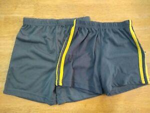 Lot of 2 boys sleep/jersey shorts, size 4T, Carter's, soft gray
