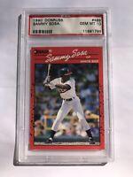 1990 Donruss Sammy Sosa #489 PSA Gem Mint 10 Baseball Rookie Card