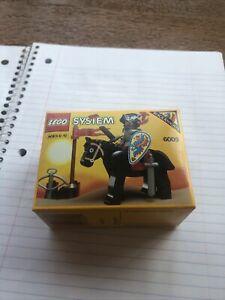 NEW Lego Castle 6009 BLACK KNIGHTS -1992 - Ultra rare - Fast Ship! NIB 👀 Nice