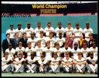 MLB 1979 World Champion Pittsburgh Pirates Team Picture Color 8 X 10 Photo Pic
