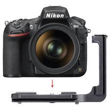 Neewer Metal Quick Release L-Plate Bracket Hand Grip FD810L for Nikon D810