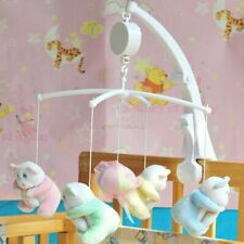 Rotary Baby Mobile Crib Bed Toys Clockwork Movement Music Box Kids Bedding Toy