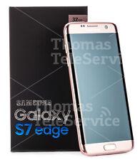 Samsung Galaxy S7 edge SM-G935F (aktuellstes Modell) - 32GB - Pink Gold (Ohne Simlock) Smartphone