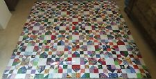 GorgeousChains of Stars Quilt TOP Made in USA 100% Cotton