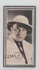1936 Godfrey Phillips Stars of the Screen Tobacco Base 32 Wallace Beery Card 0v9