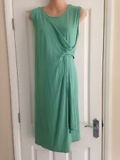 BNWT NEXT Green Sleeveless MATERNITY Wrap Dress Size 18