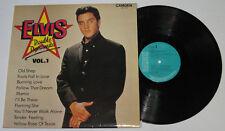 England Pressing ELVIS PRESLEY Double Dynamite Vol.1 LP Record