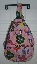 Jetpack Tennis Bag Backpack Lynne Tauchen Pink Floral Cellphone Pocket