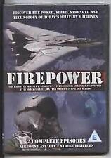 FIREPOWER: 2 COMPLETE EPISODES – DVD, R-4, NEW AND SEALED FREE POST IN AUSTRALIA