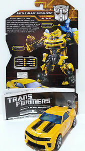 TRANSFORMERS 2010 BATTLE BLADE BUMBLEBEE MOVIE ROTF LOOSE COMPLETE