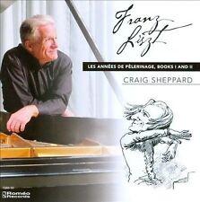 Liszt: Les Ann'es de PŠlerinage, Books 1 and 2 (CD, Apr-2012, 2 Discs, Romeo Rec